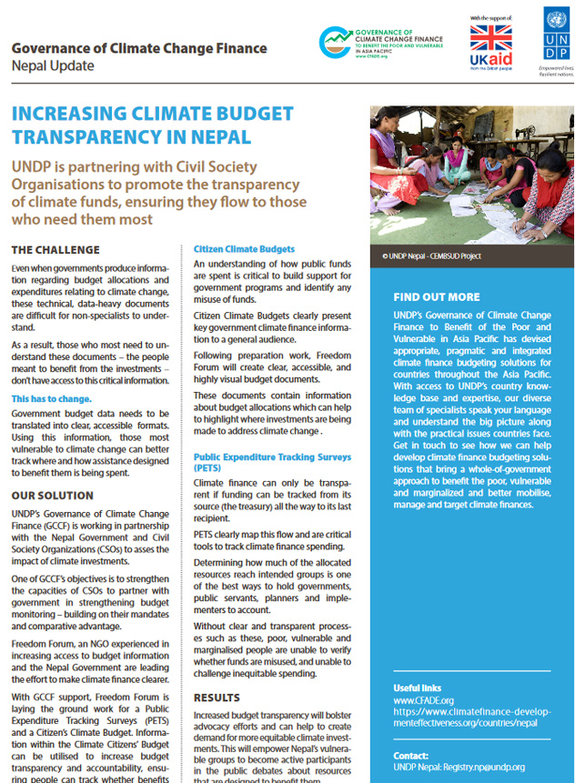 Publications   Governance of Climate Change Finance for Asia